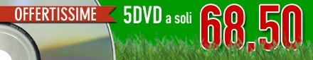OFFERTA 5 DVD