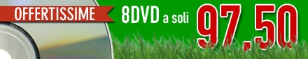 OFFERTA 8 DVD